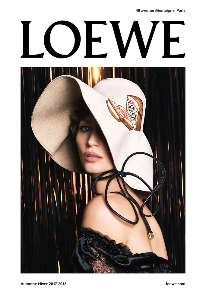 The Loewe fall 2017 campaign.