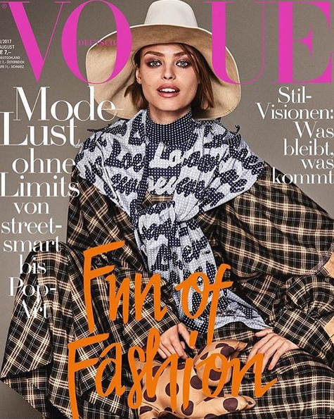 Vogue Germany August 17 by Giampaolo Sgura
