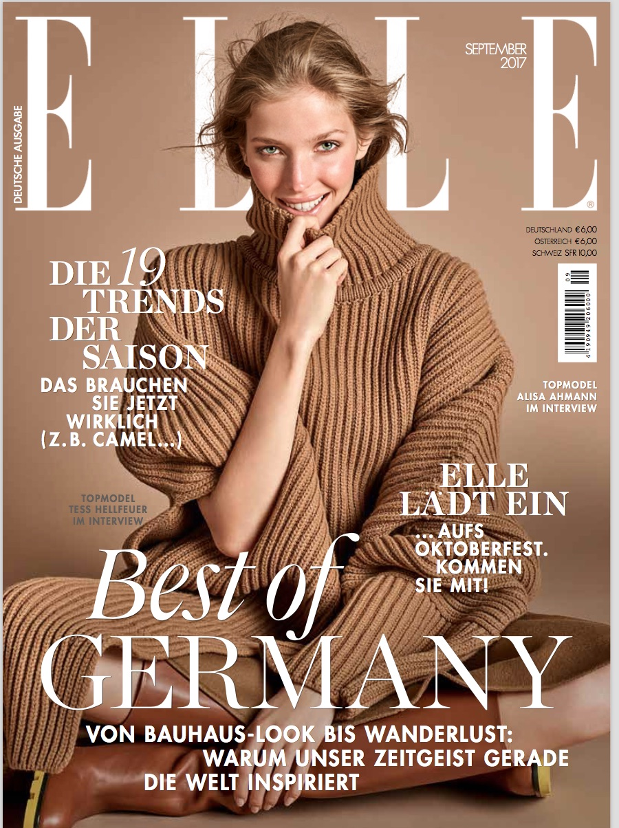 Elle September Alisa Cover